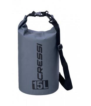 Cressi Dry Bag 15 lt. - Grey