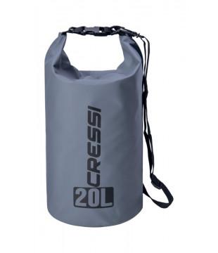 Cressi Dry Bag 20 lt. - Grey
