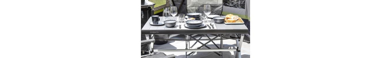 Tavoli da campeggio e giardino